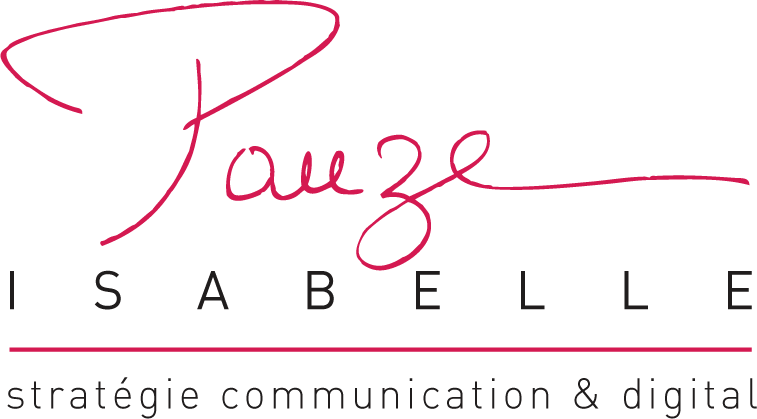 logo Isabelle Pauze communication