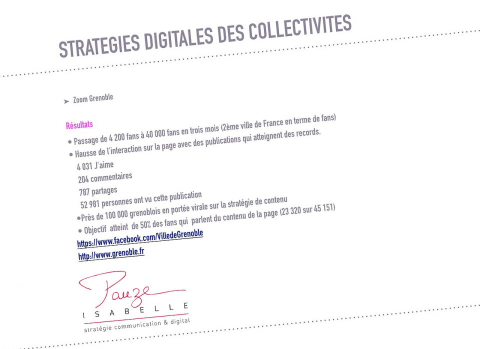 strategie digitale ville de Saint-Just Saint-Rambert - Isabelle Pauze