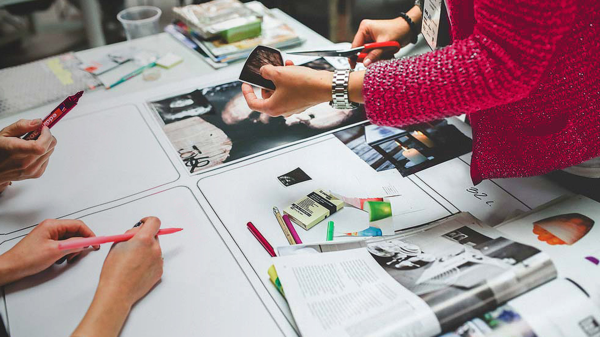équipe - visuel agence de communication Isabelle Pauze